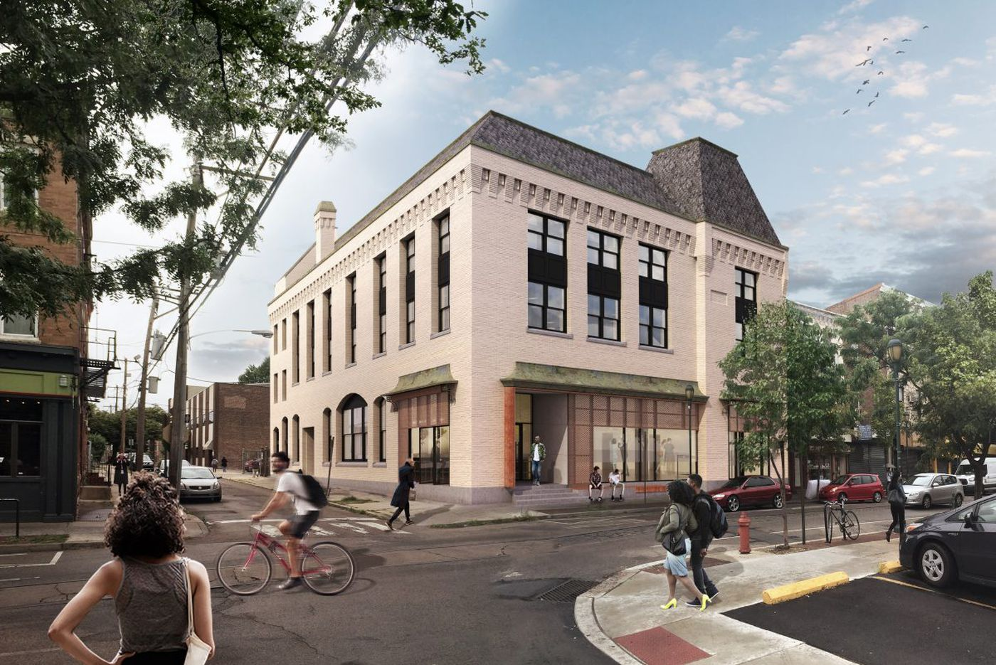 Long-hidden Frank Furness building will be renovated in West Philly