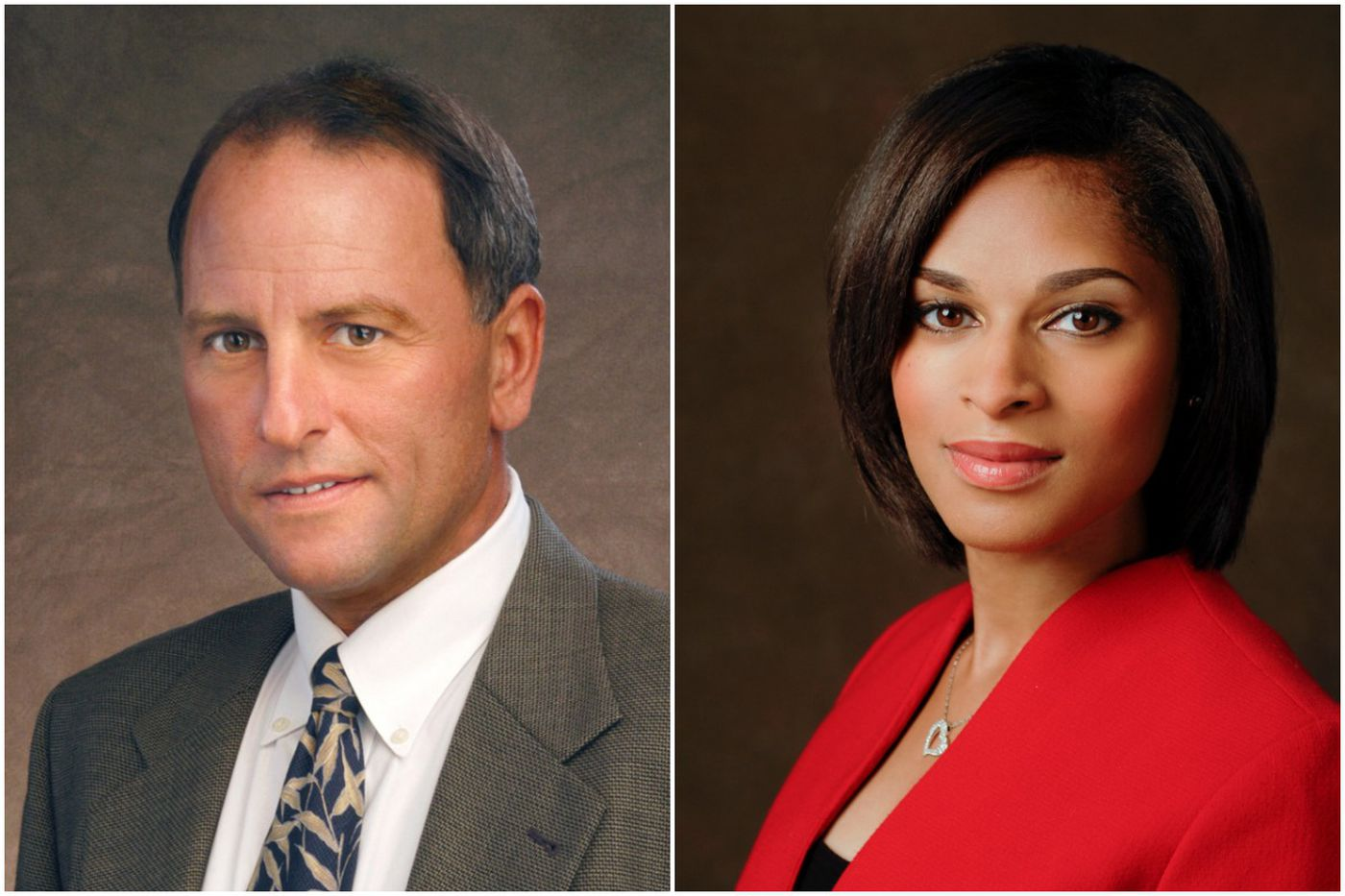 Jericka Duncan and Jeff Fager