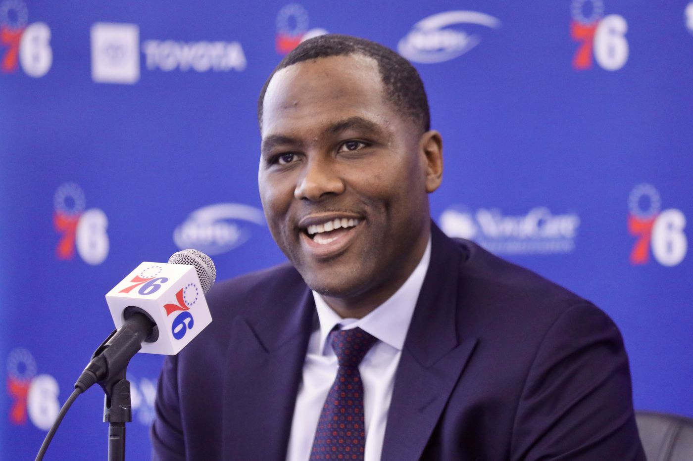 Sixers GM Elton Brand: Joel Embiid might not be ready for the playoffs