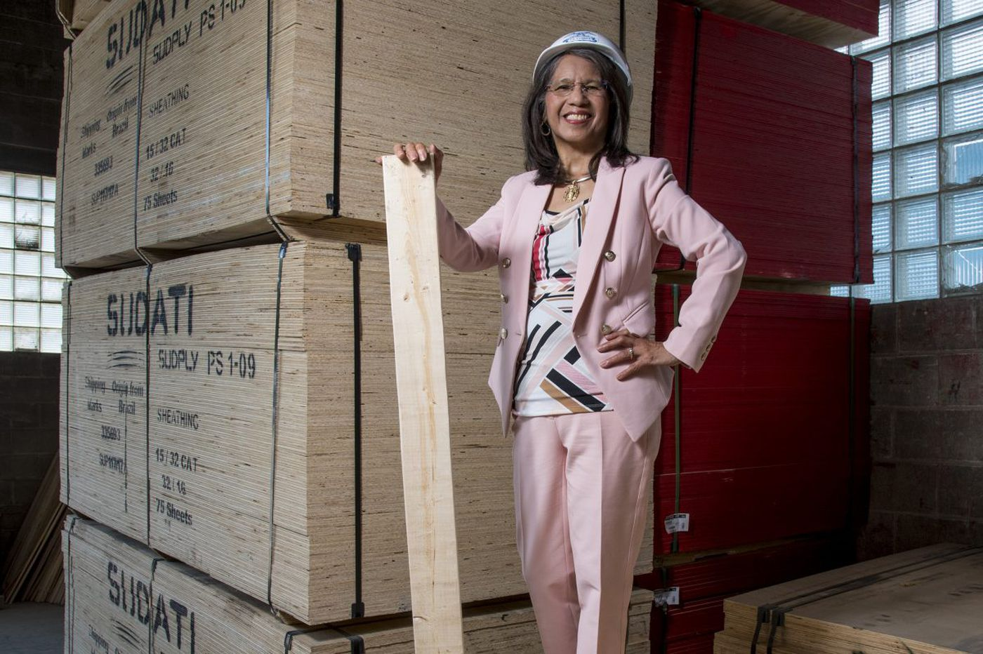 How a former nanny learned to run a lumber company