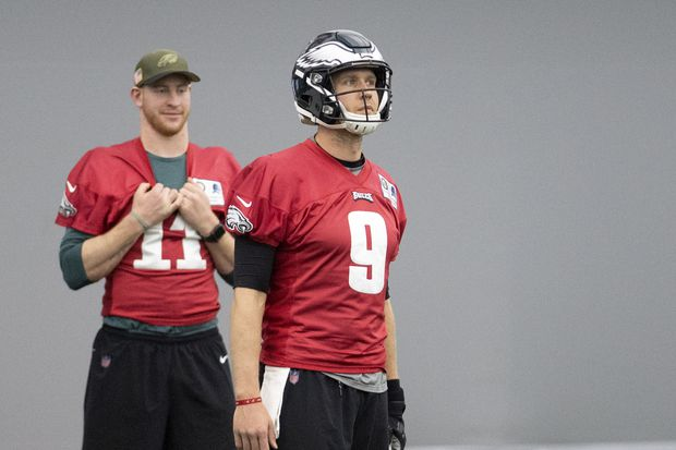 What Nick Foles taught Carson Wentz - and Eagles coach Doug Pederson | Marcus Hayes