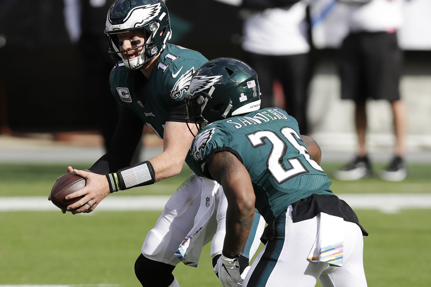 Eagles offense is getting closer to full strength with Miles Sanders, Lane Johnson, and Alshon Jeffery set to return