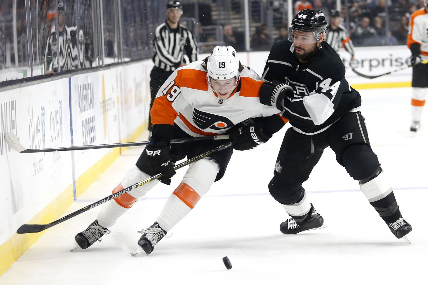 Flyers-Kings observations: Nolan Patrick, Oskar Lindblom finding their mojo