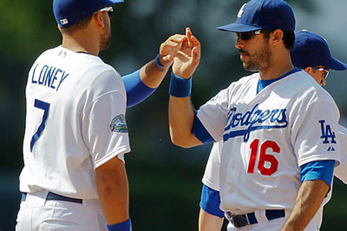 Dodgers sweep Nats