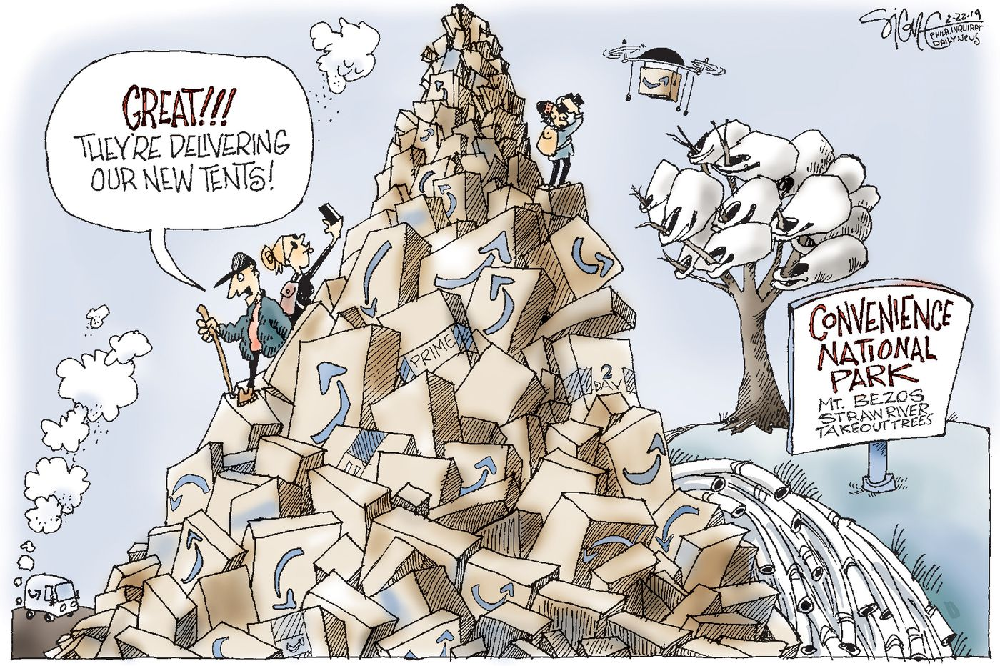 Political Cartoon: Convenience National Park