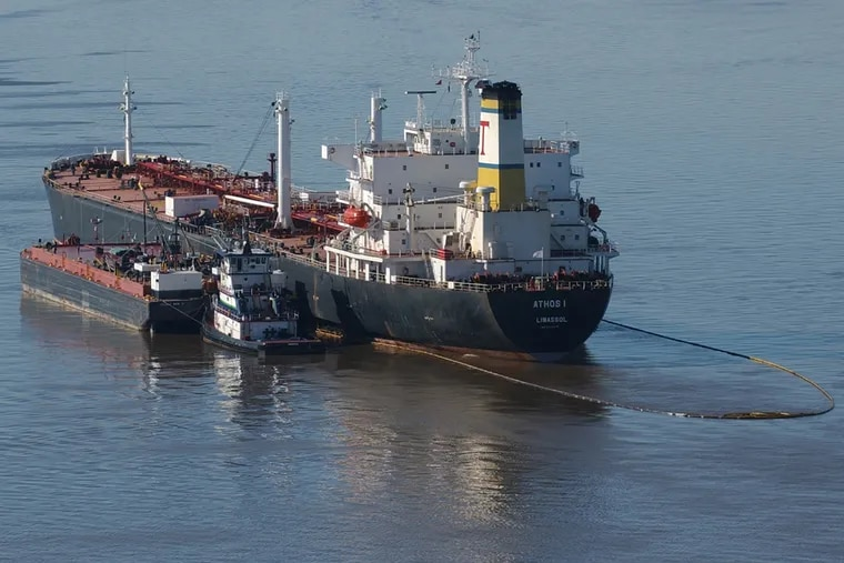 The Athos I spilled 264,000 gallons of oil in the Delaware River in November 2004 after striking a submerged ship anchor. The spill affected hundreds of miles of shoreline.