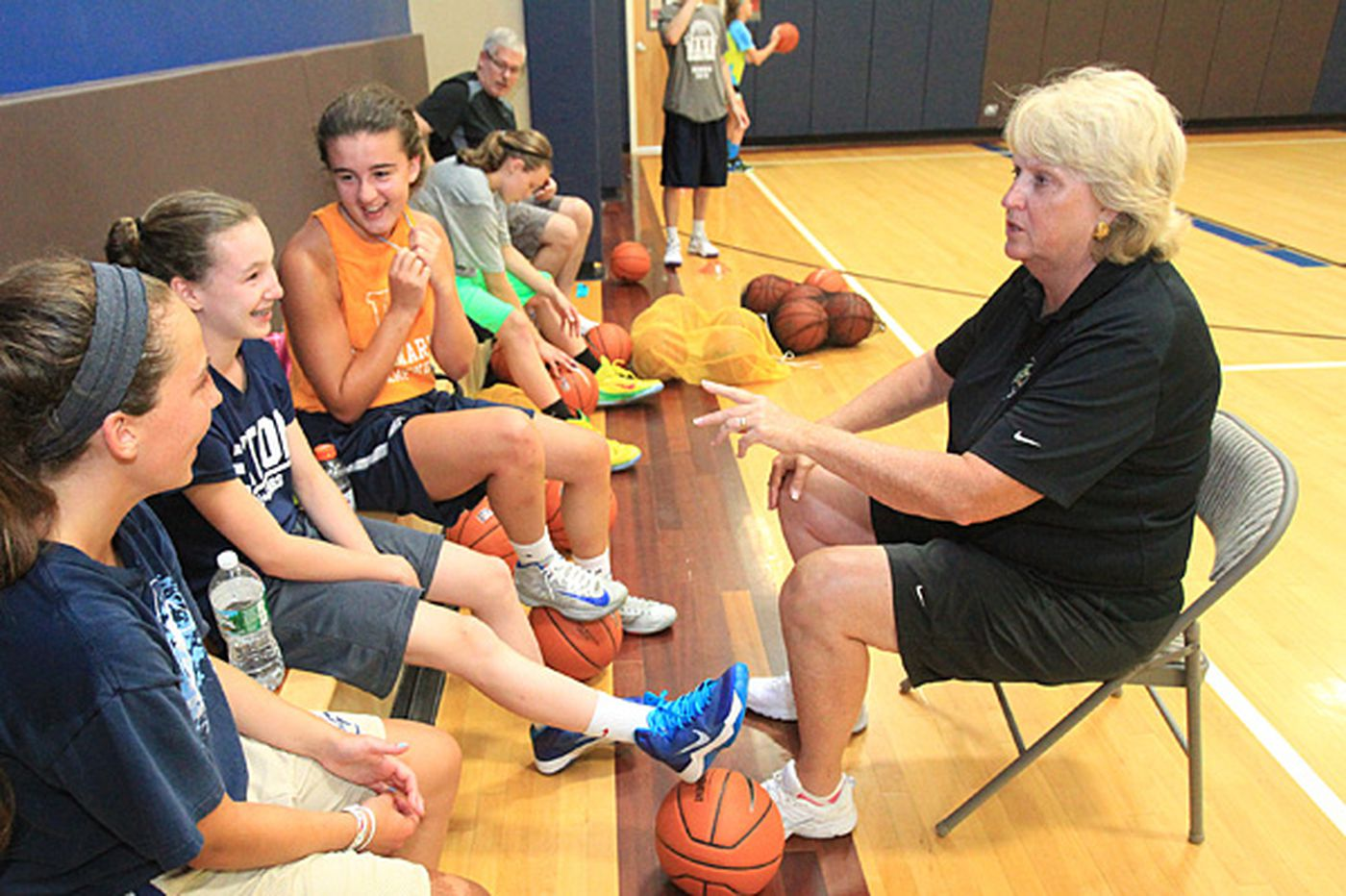Hall of Famer Theresa Grentz still finds joy in coaching