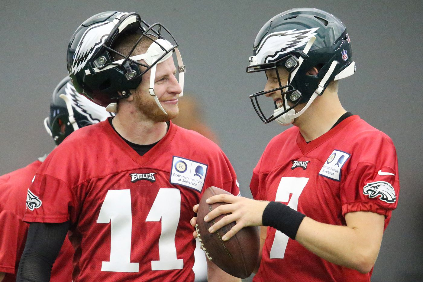 Who will back up the Eagles' Carson Wentz after Nick Foles signs elsewhere?