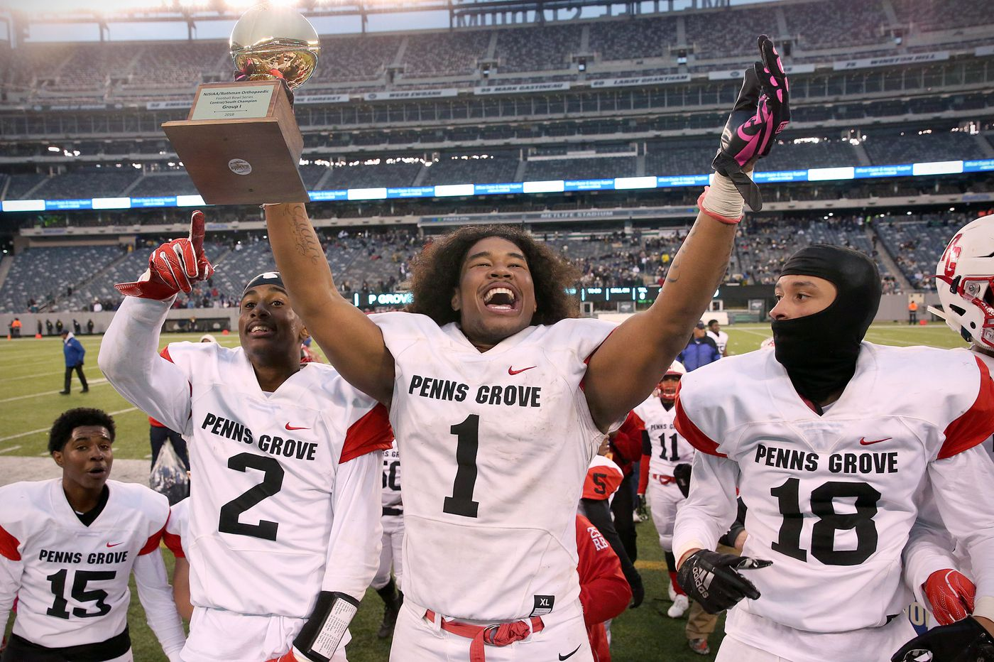 Penns Grove rallies from 20-point deficit to beat Willingboro at MetLife Stadium
