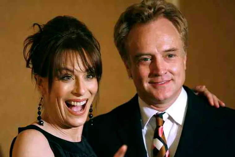 """Jane Kaczmarek and Bradley Whitford, seen in 2007, are divorcing, their publicist says. (See """"Goodbye for good actors."""")"""