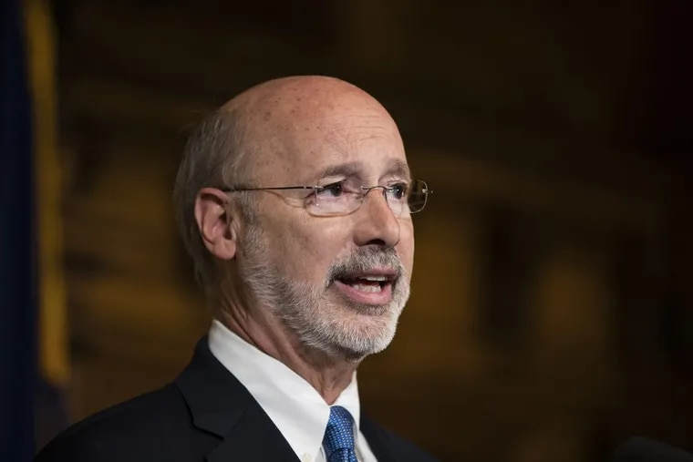 Gov. Wolf ignored his constitutional obligation and allowed an unbalanced $32 billion spending plan to become law.