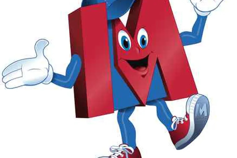 MetroMan is the mascot for rebranded Commerce Banks in central Pa.