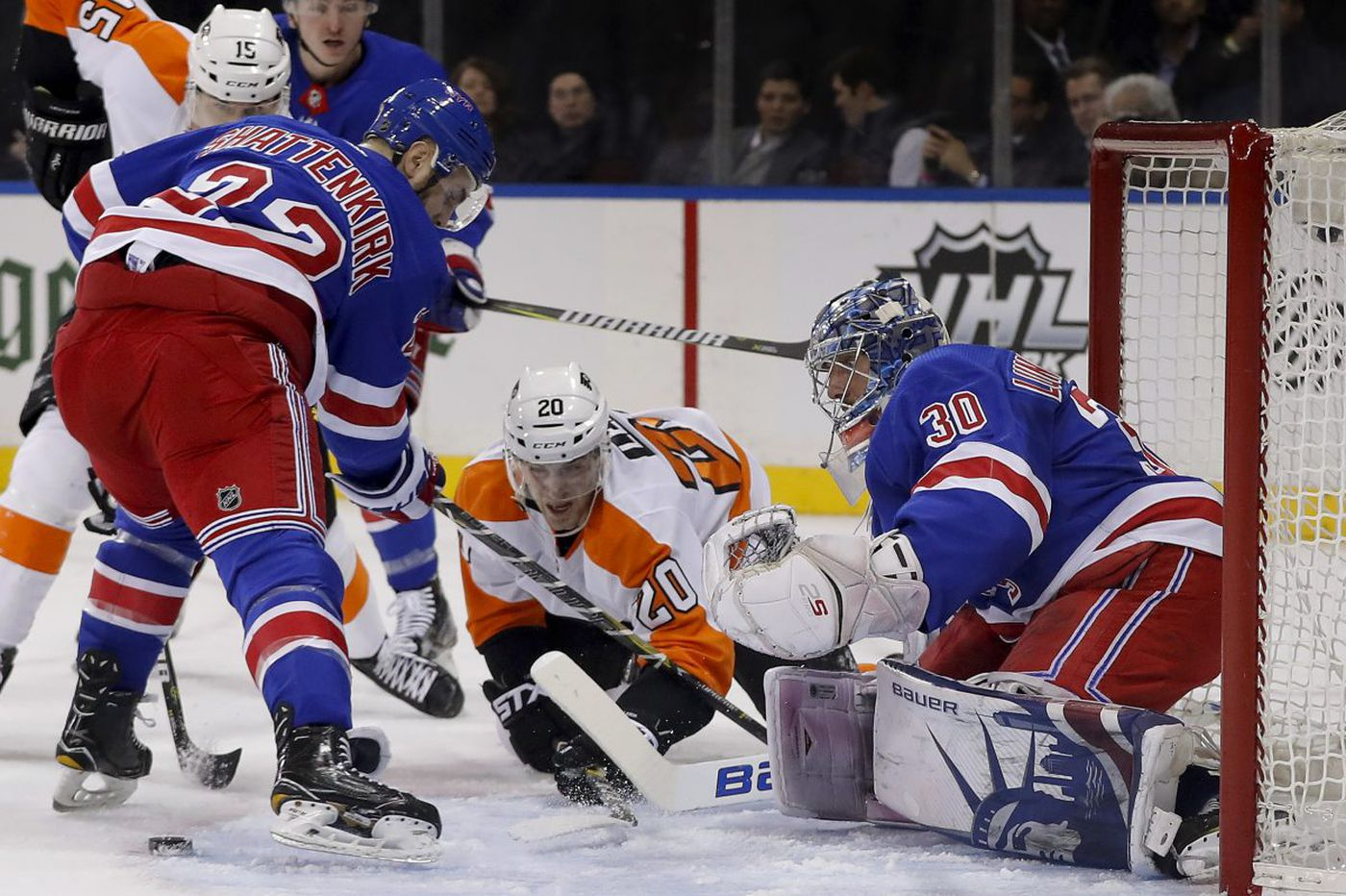 Maturing Flyers trying to pay back Rangers