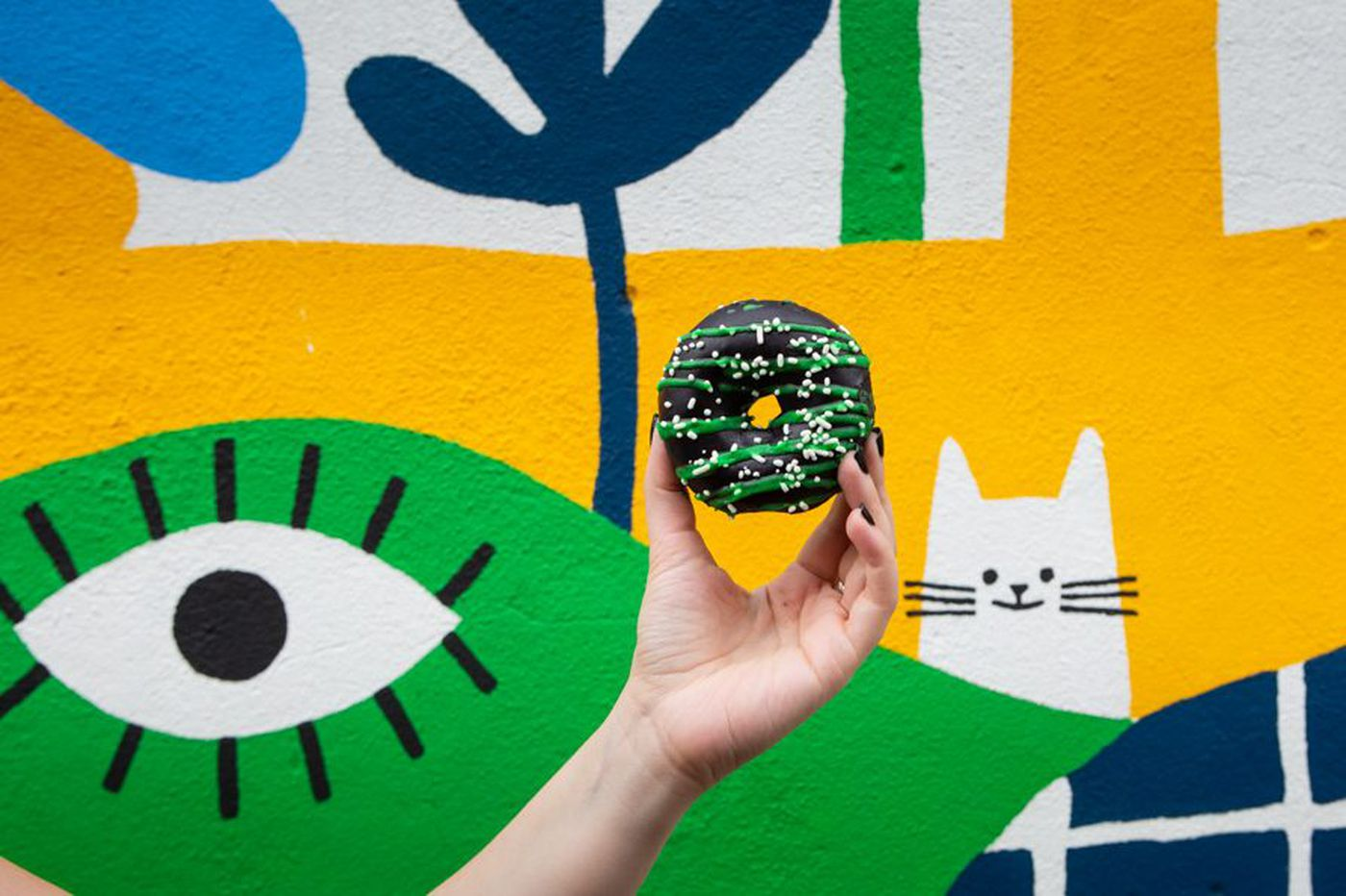 Federal Donuts and Mural Arts Philadelphia are teaming up on a charitable Berries & Cream doughnut