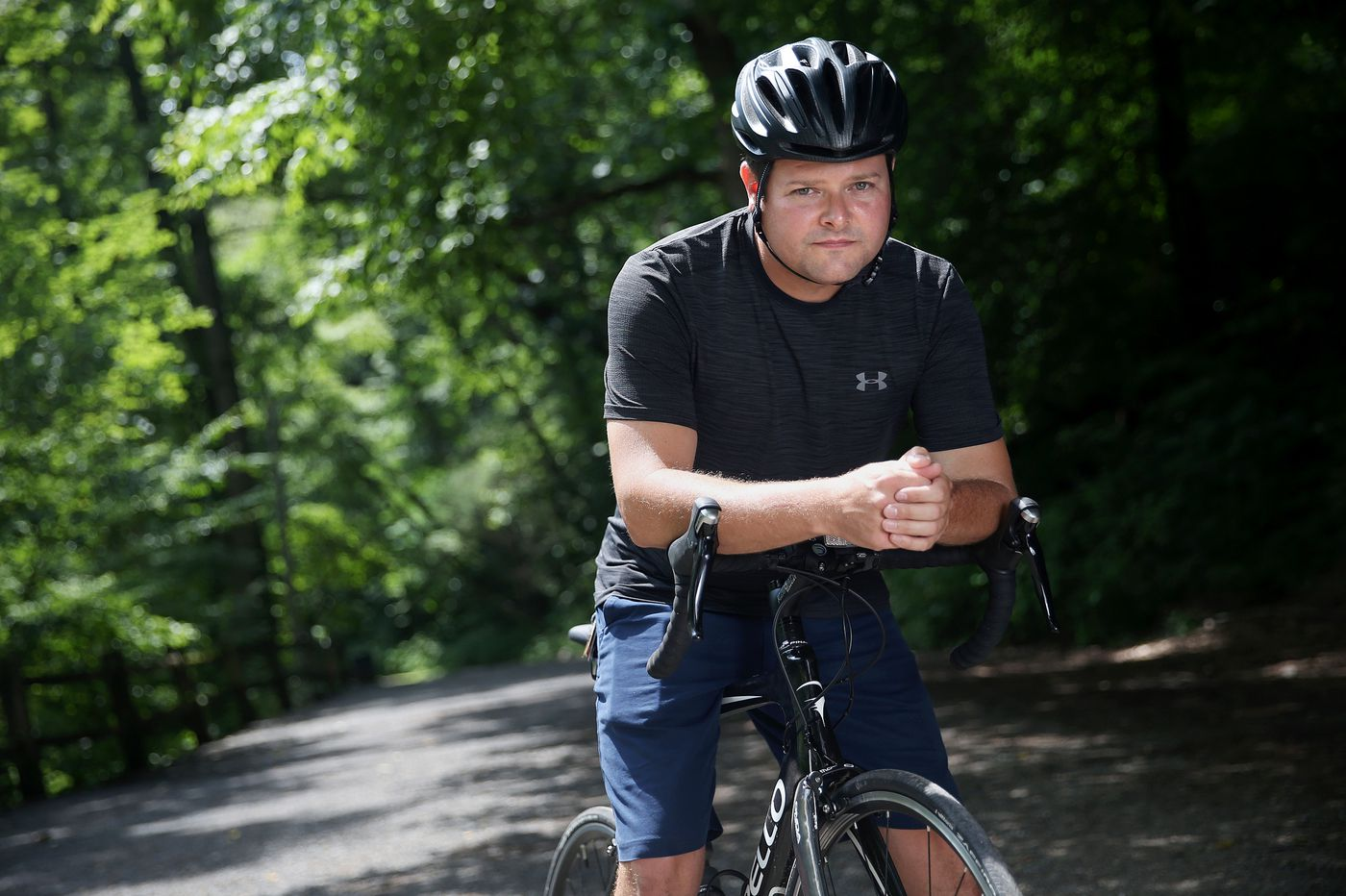From shooting victim to victor: Former Philly cop Jesse Hartnett is riding the distance