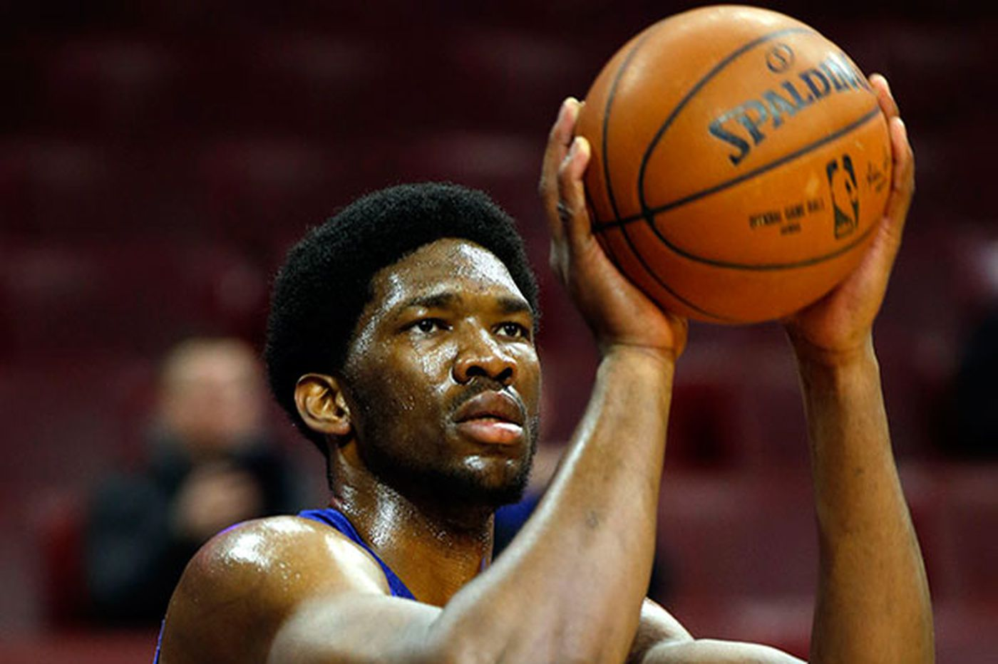 Hinkie is definitely concerned about Embiid's right foot