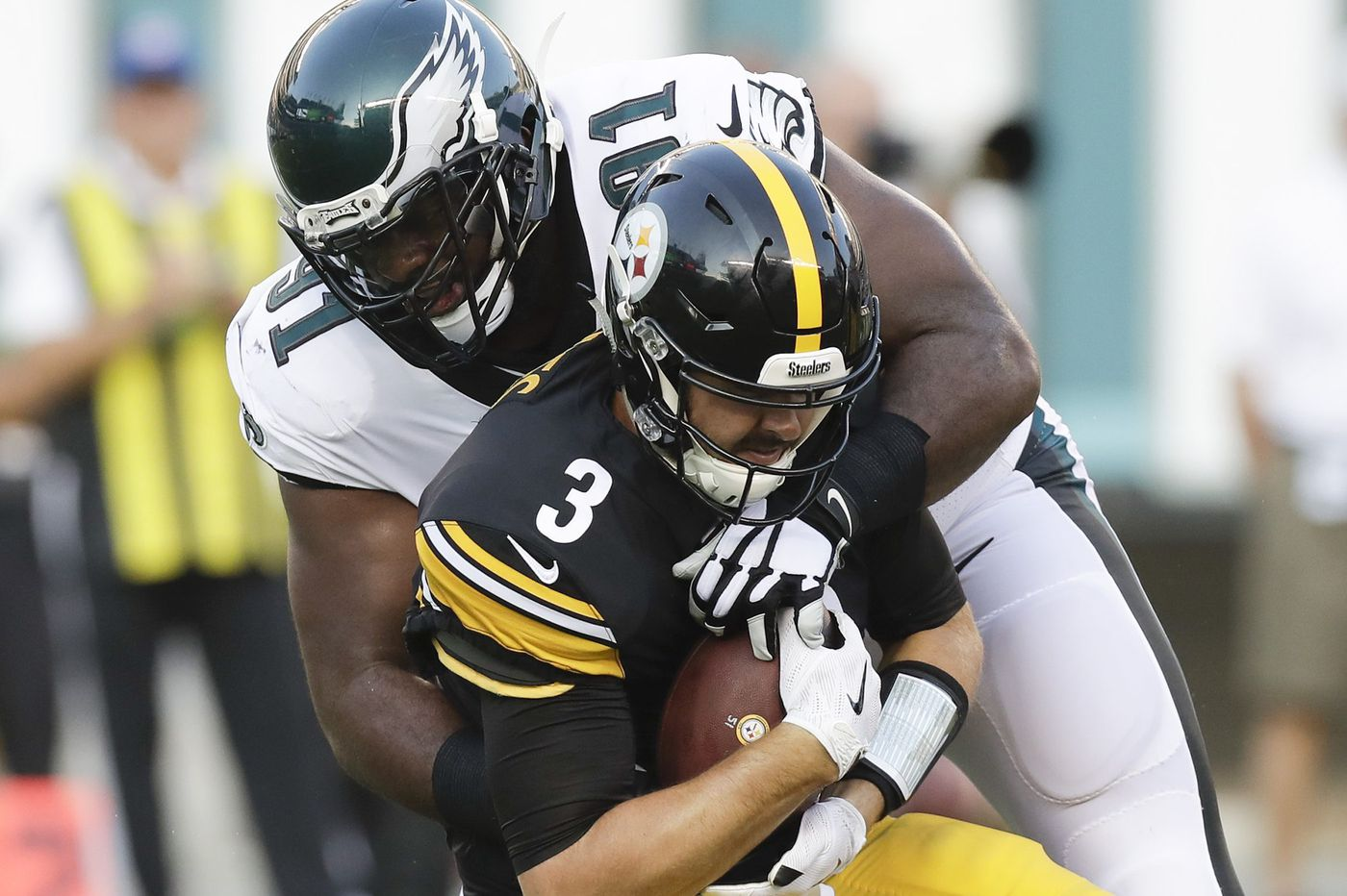 Will the Eagles' Fletcher Cox need to wreck the Falcons once again?   Bob Ford