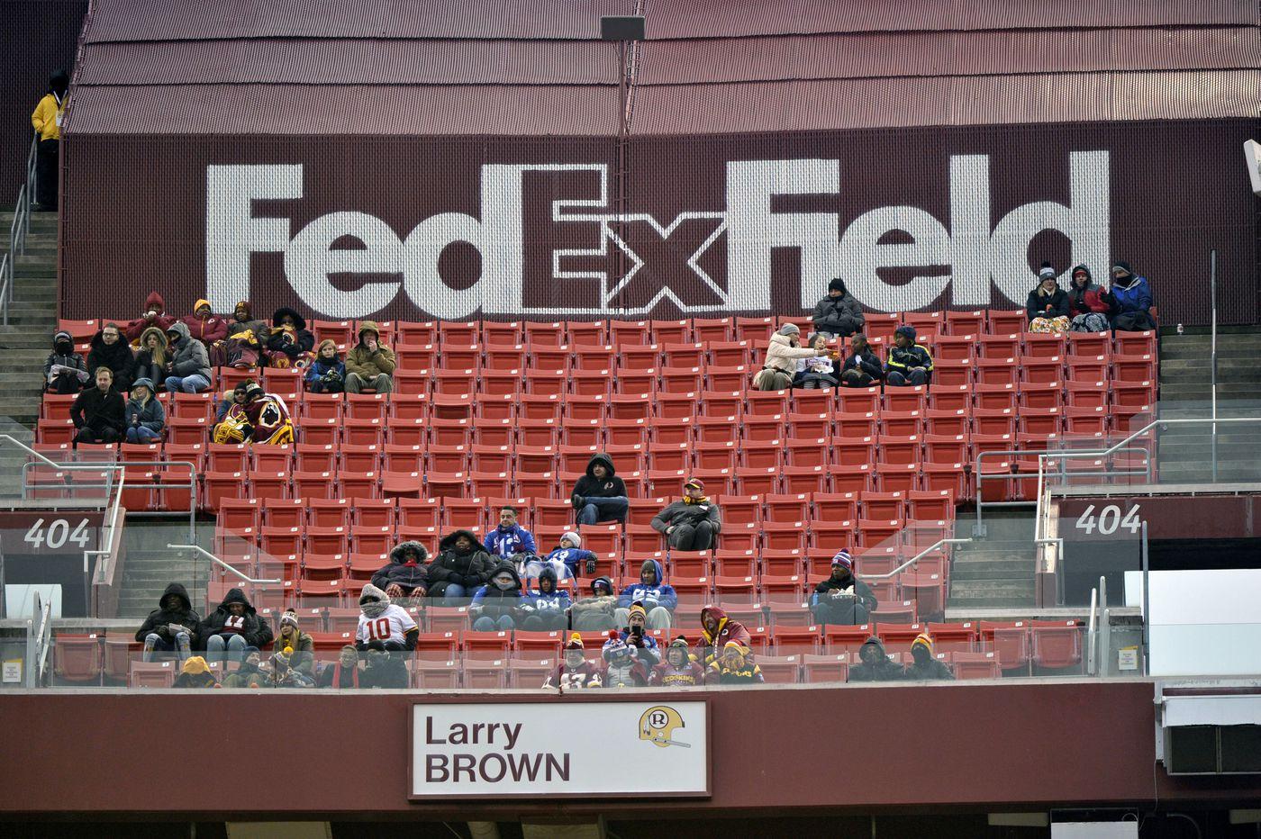 Sponsor FedEx asks Washington's NFL team to change its nickname