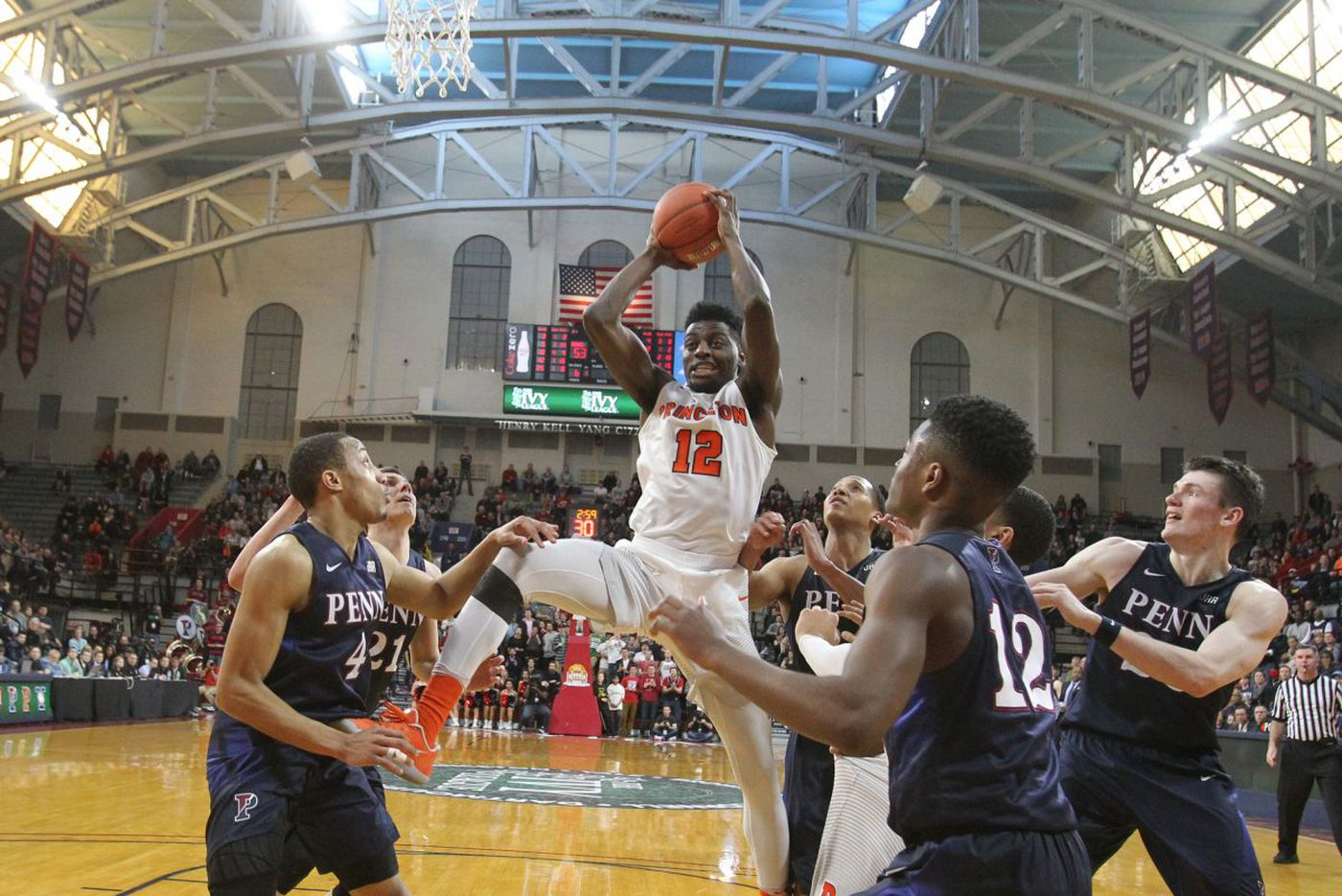 Penn-Princeton basketball game postponed to Saturday