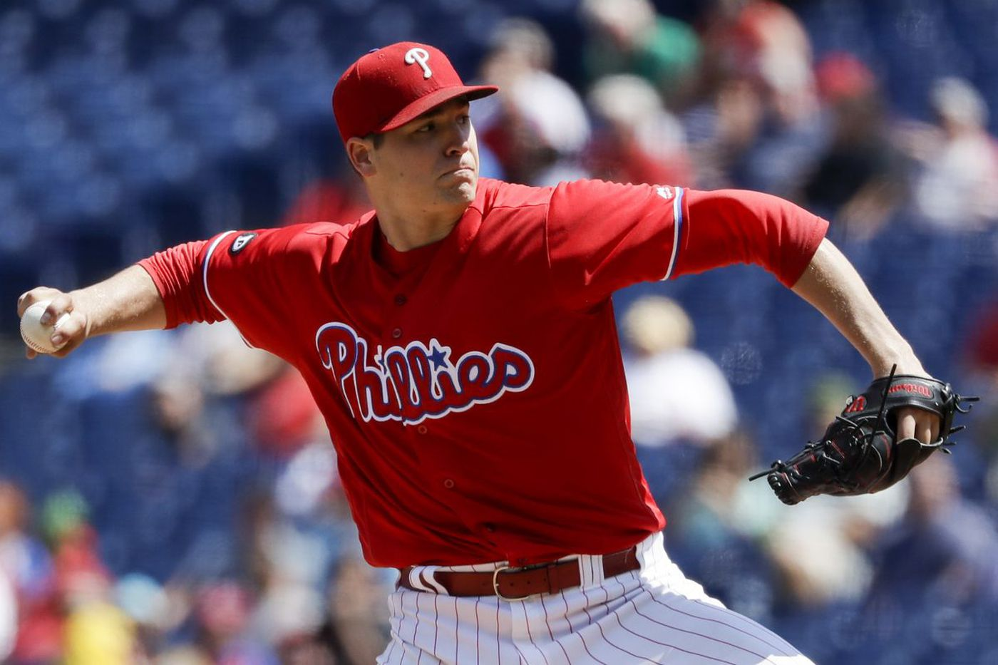 Jerad Eickhoff's season is over; Phillies claim Kevin Siegrist off waivers