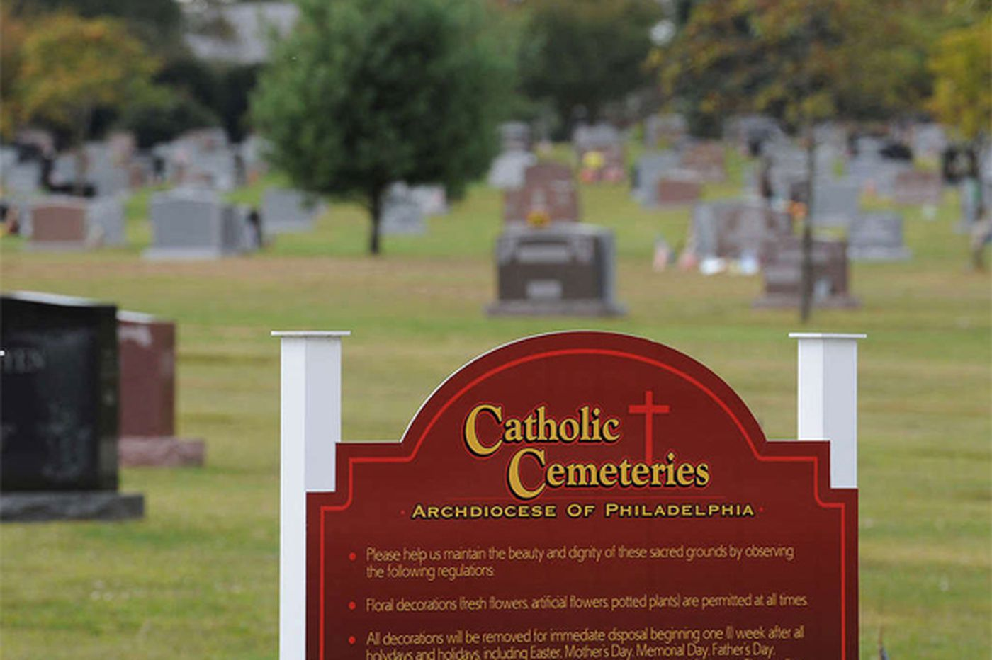 Archdiocese's bid to lease 13 cemeteries has court date