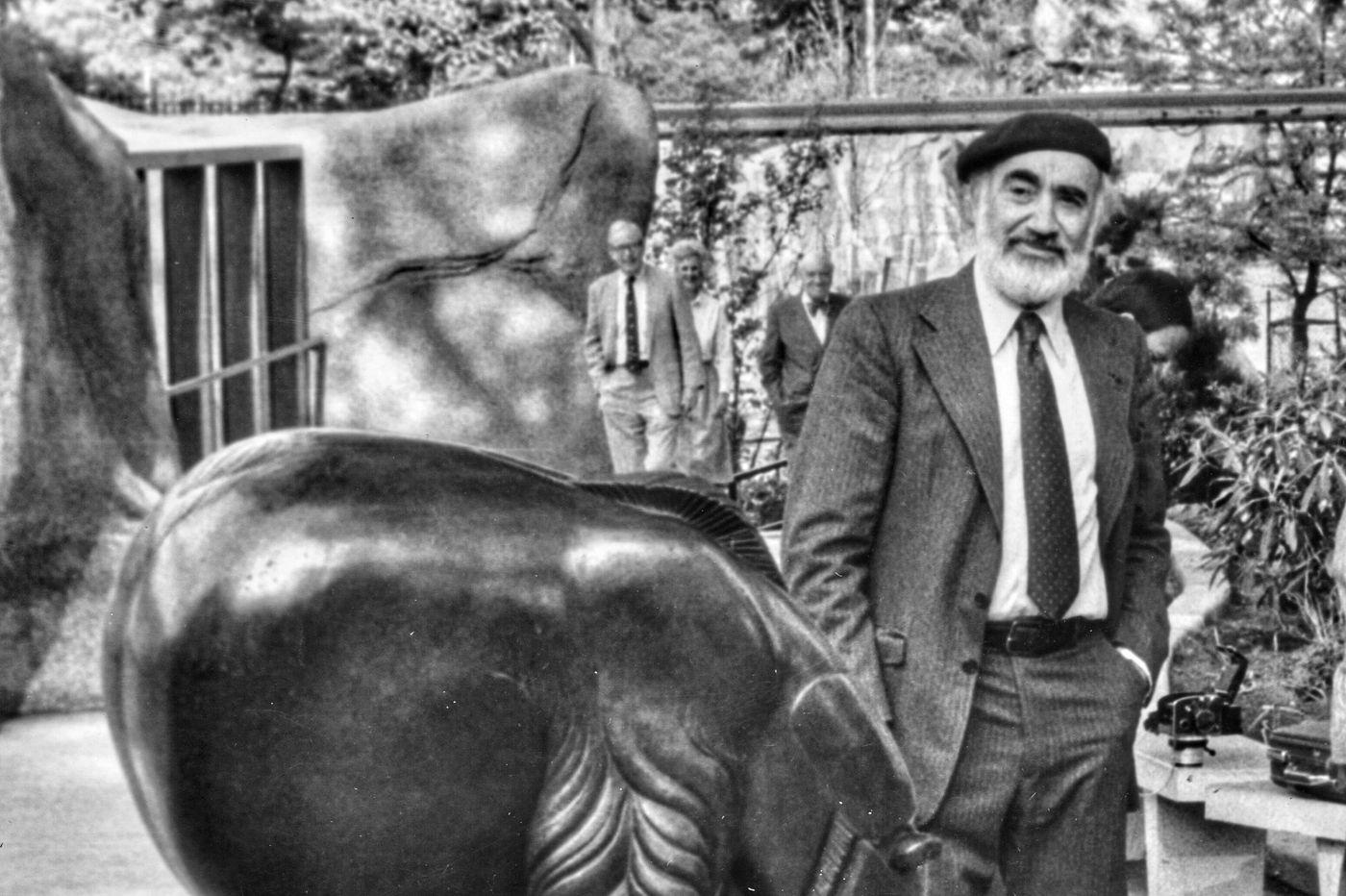 EvAngelos Frudakis, 97, of Philadelphia, noted sculptor and teacher