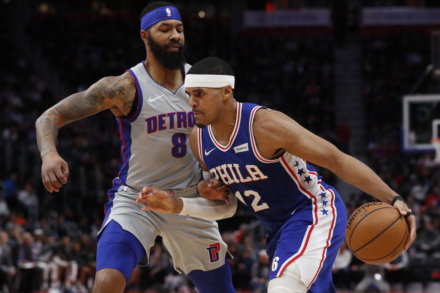 Tobias Harris, Ben Simmons lead Sixers over Pistons