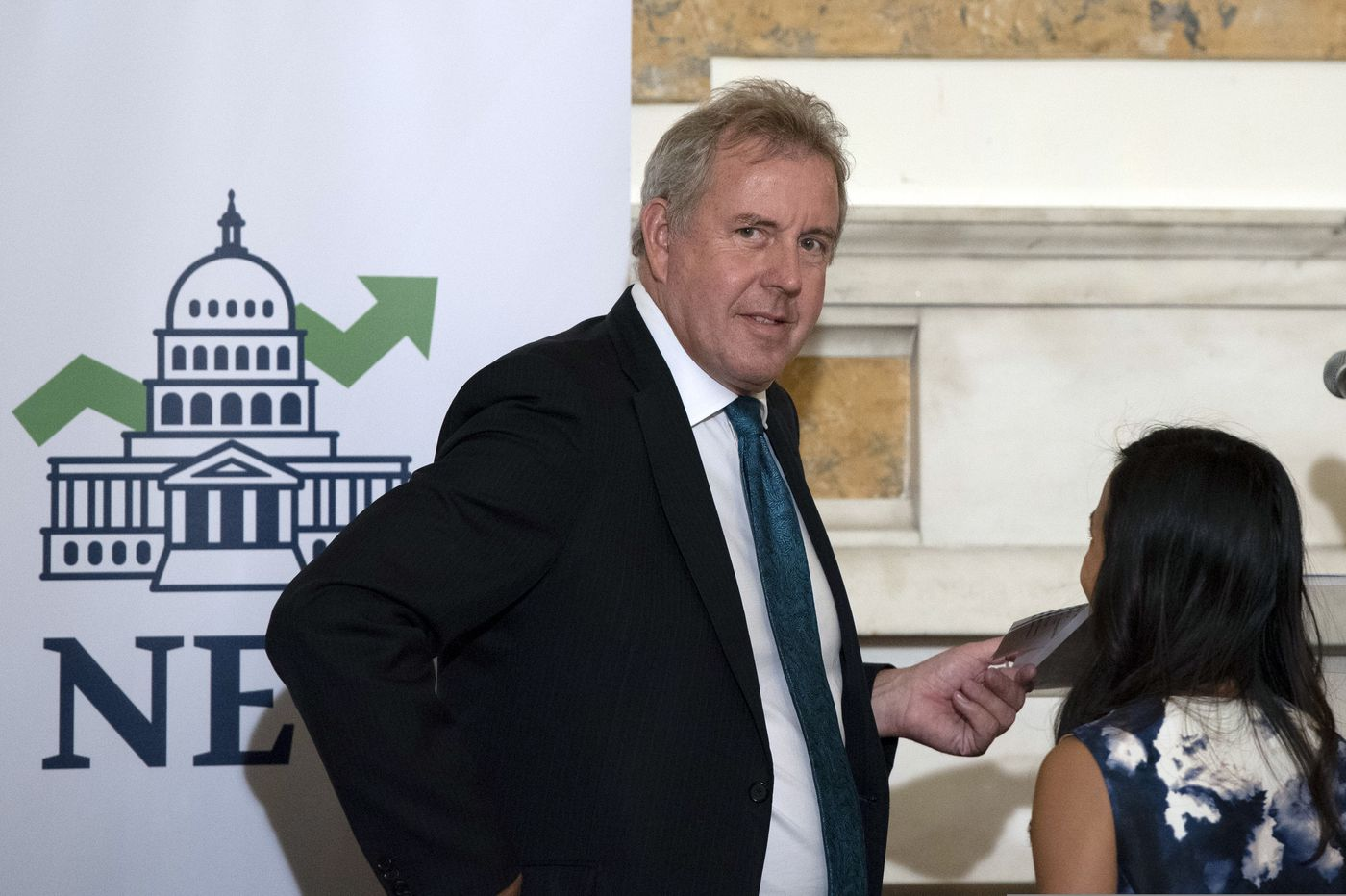 U.K. ambassador to U.S. quits days after leaked cables on Trump