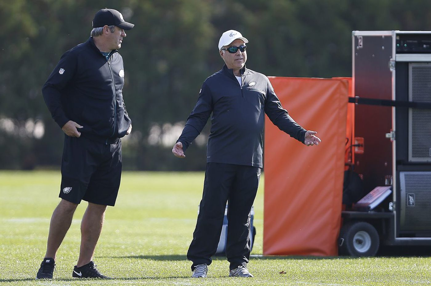 Blame Jeffrey Lurie and Howie Roseman for the Eagles' laughable mess, not Doug Pederson | Marcus Hayes