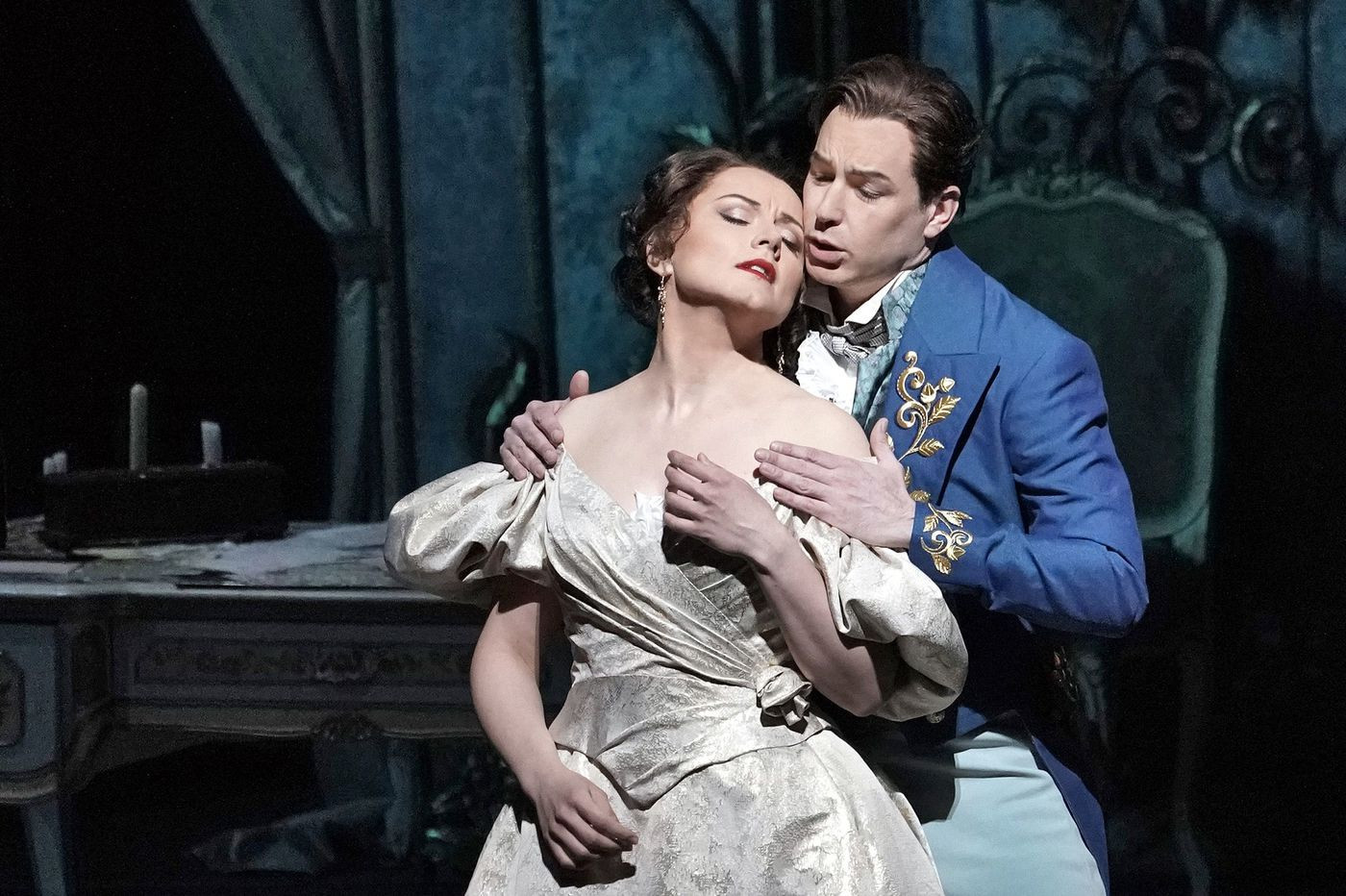 The opera star out of Northeast Philly is back on stage at the Metropolitan Opera