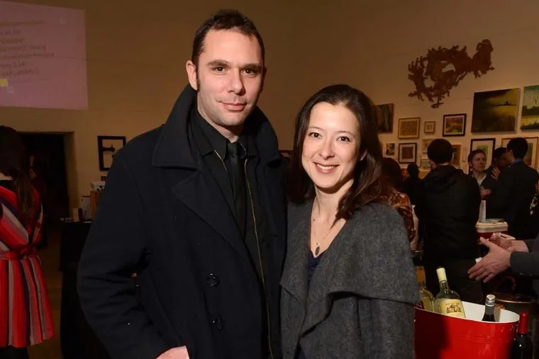 Michael and Liz Grimaldi at the INLIQUID VIP v.13 Preview Party in 2013.