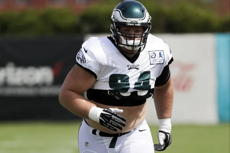 Philadelphia Eagles Defensive tackle Beau Allen will not play vs. the Chicago Bears because of a knee injury.