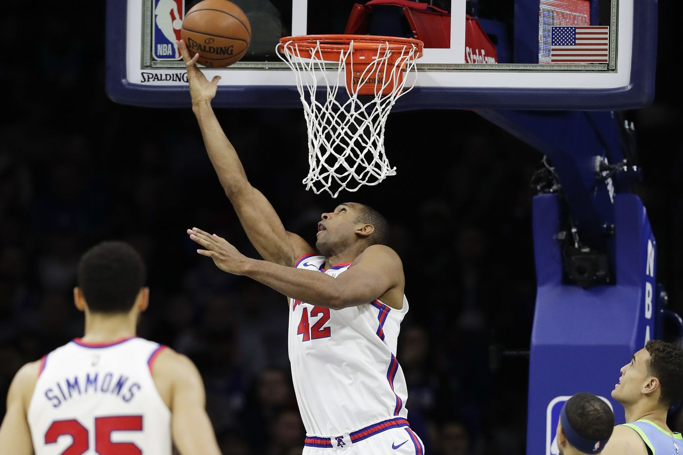 Sixers' Al Horford lacking opportunities to show his full offensive skill set