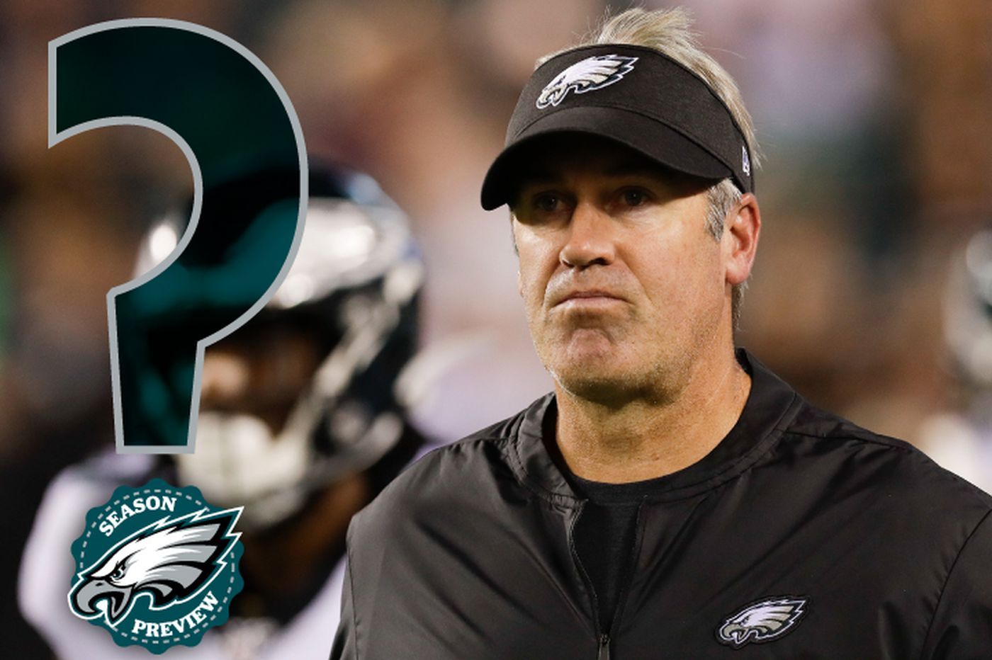 How will Eagles coach Doug Pederson call games with all the new weapons he has?