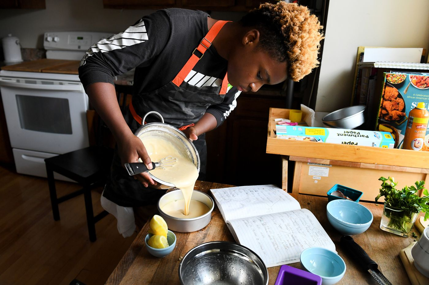 Teen baker's sweet recipes help others