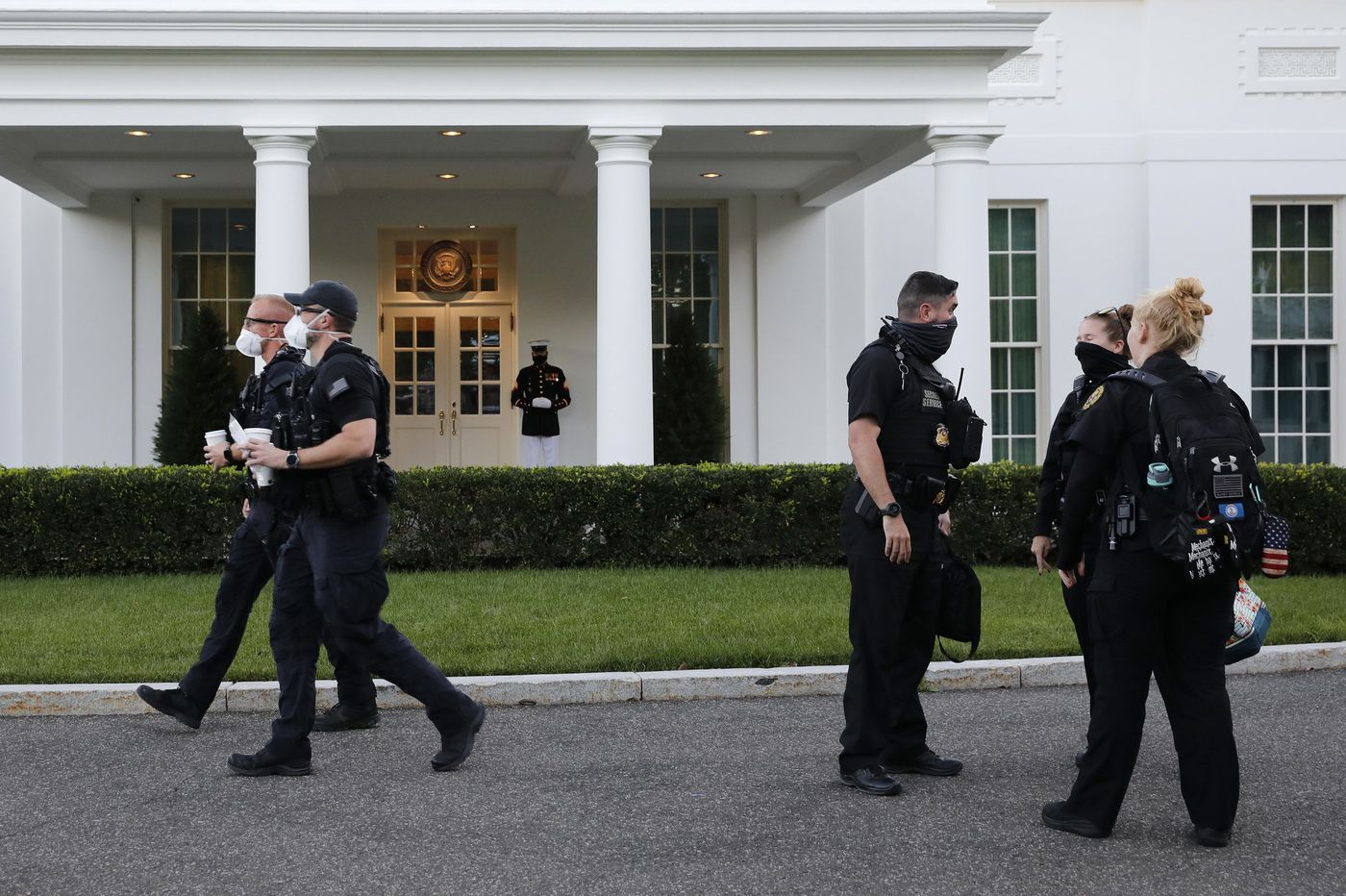 More than 130 Secret Service officers are said to be infected with coronavirus or quarantining in the wake of Trump's campaign travel