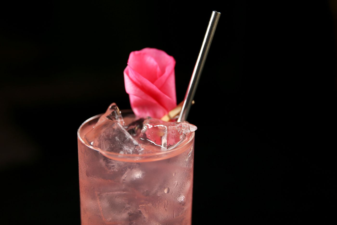 Forsythia's RBG&T toasts the famed Justice in a rosy Bluecoat cocktail