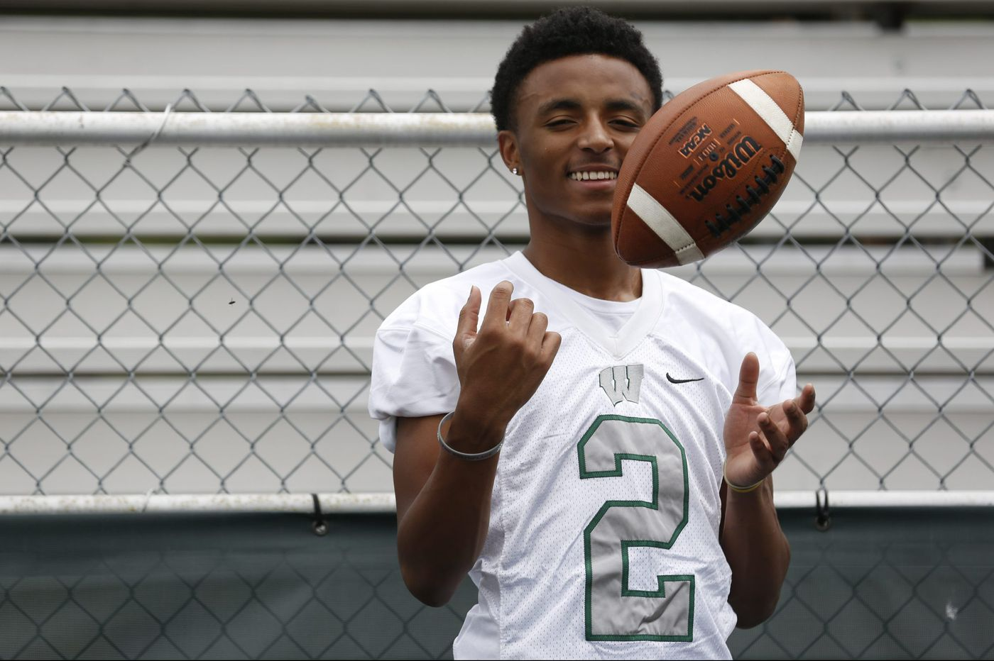 Rutgers recruit Donovan Bunch of Winslow Township is following in his father's footsteps