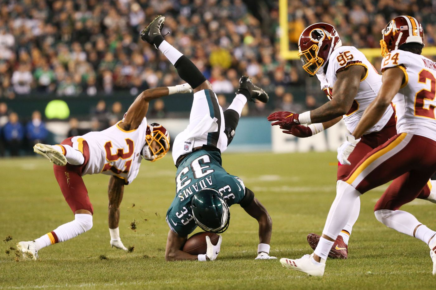 What they're saying about Eagles-Redskins | Social media roundup