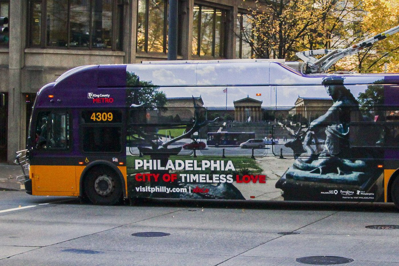 Philly launches ad blitz - in Seattle - to woo Amazon HQ2