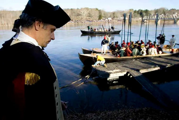 At Washington Crossing, Pa., site of the annual Christmas Day reenactment, the news is better: The state has decided to put up most of the money to repair the visitor center.