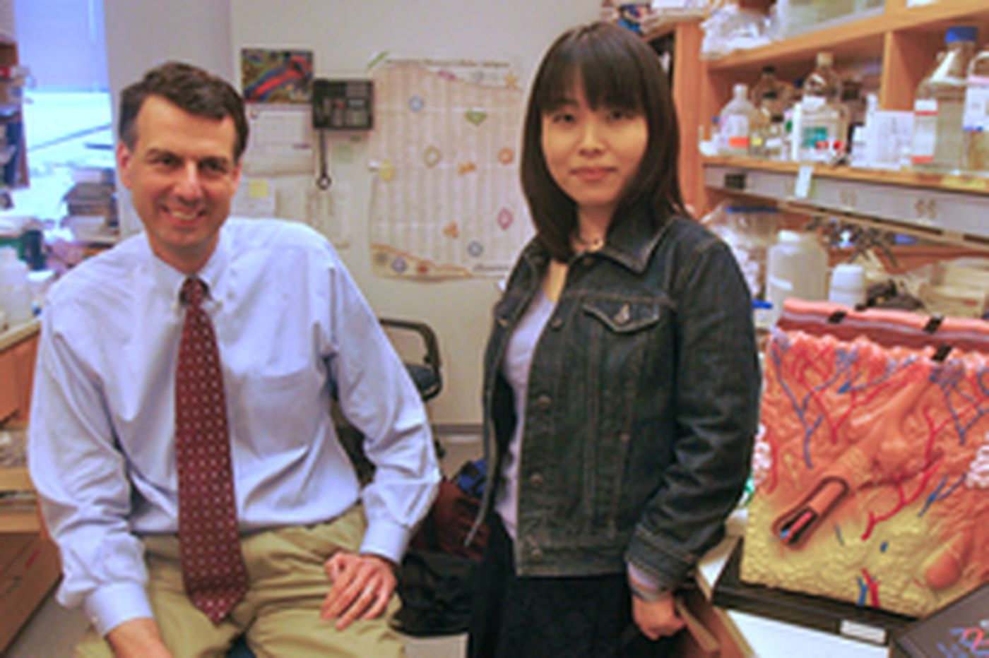 At Penn, the research is hair-raising, positively