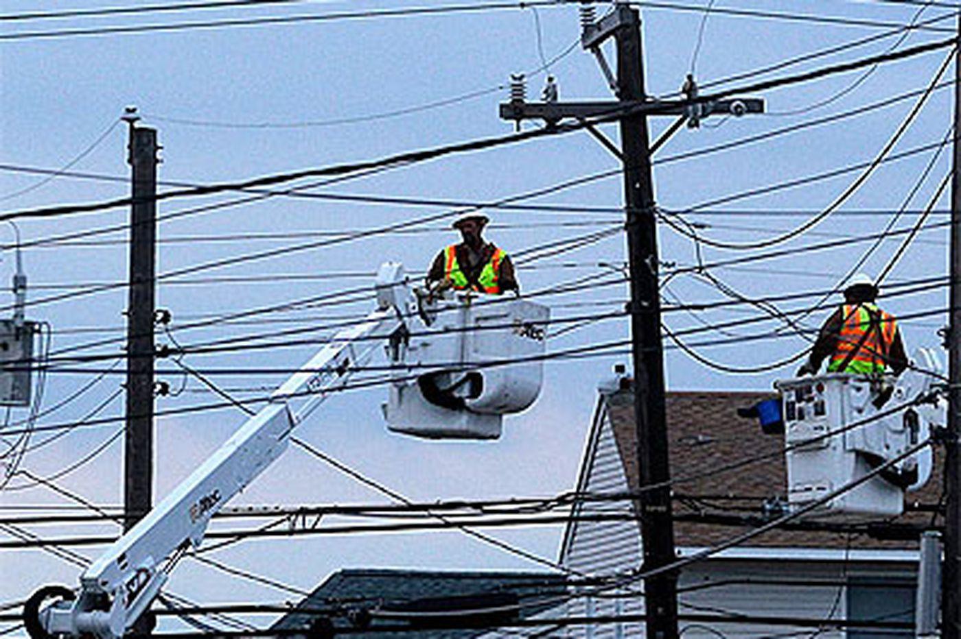 Fitful progress on restoring power across region