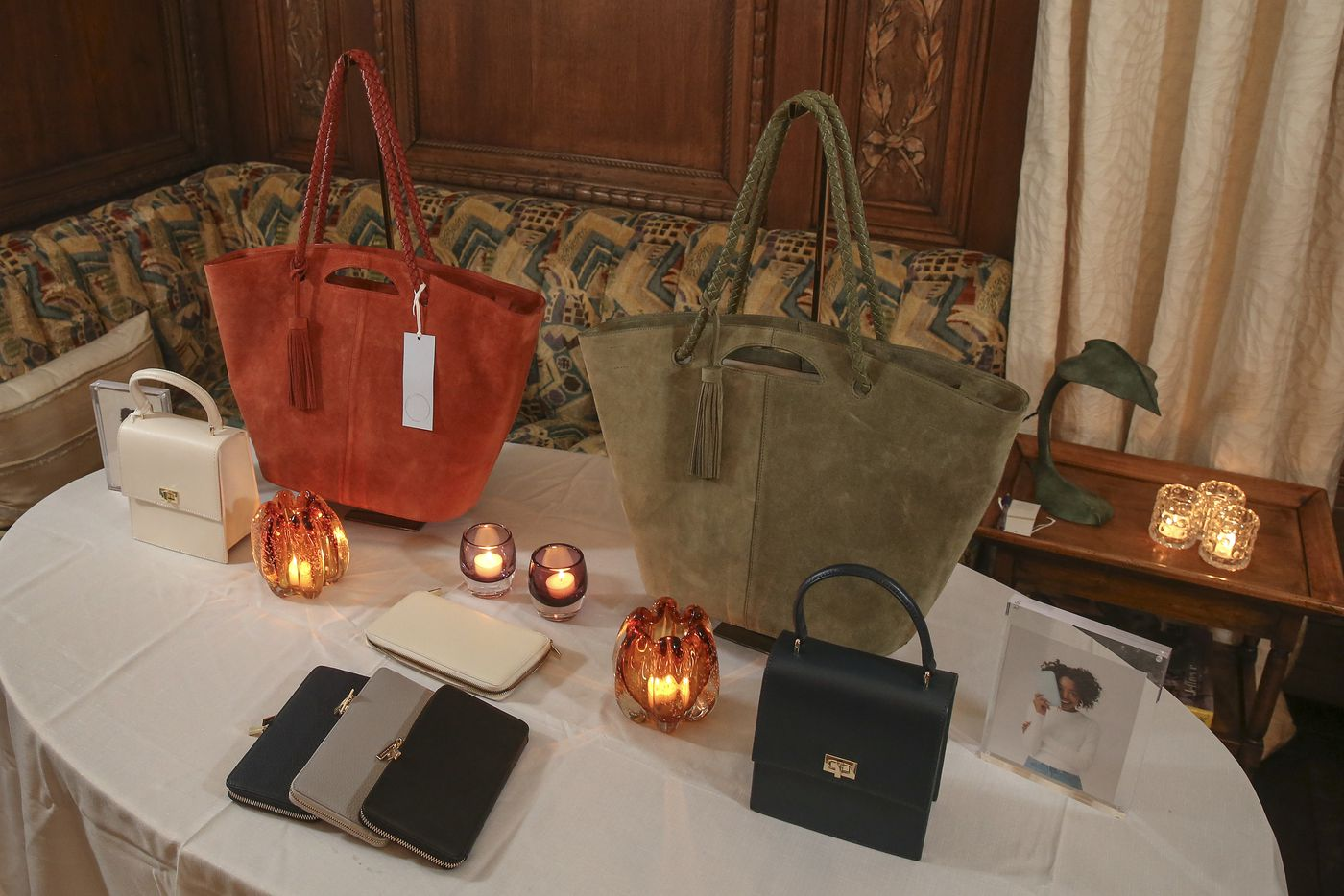 432d88205be6 A selection of Neely   Chloe handbags from left to right  the Mini Lady in