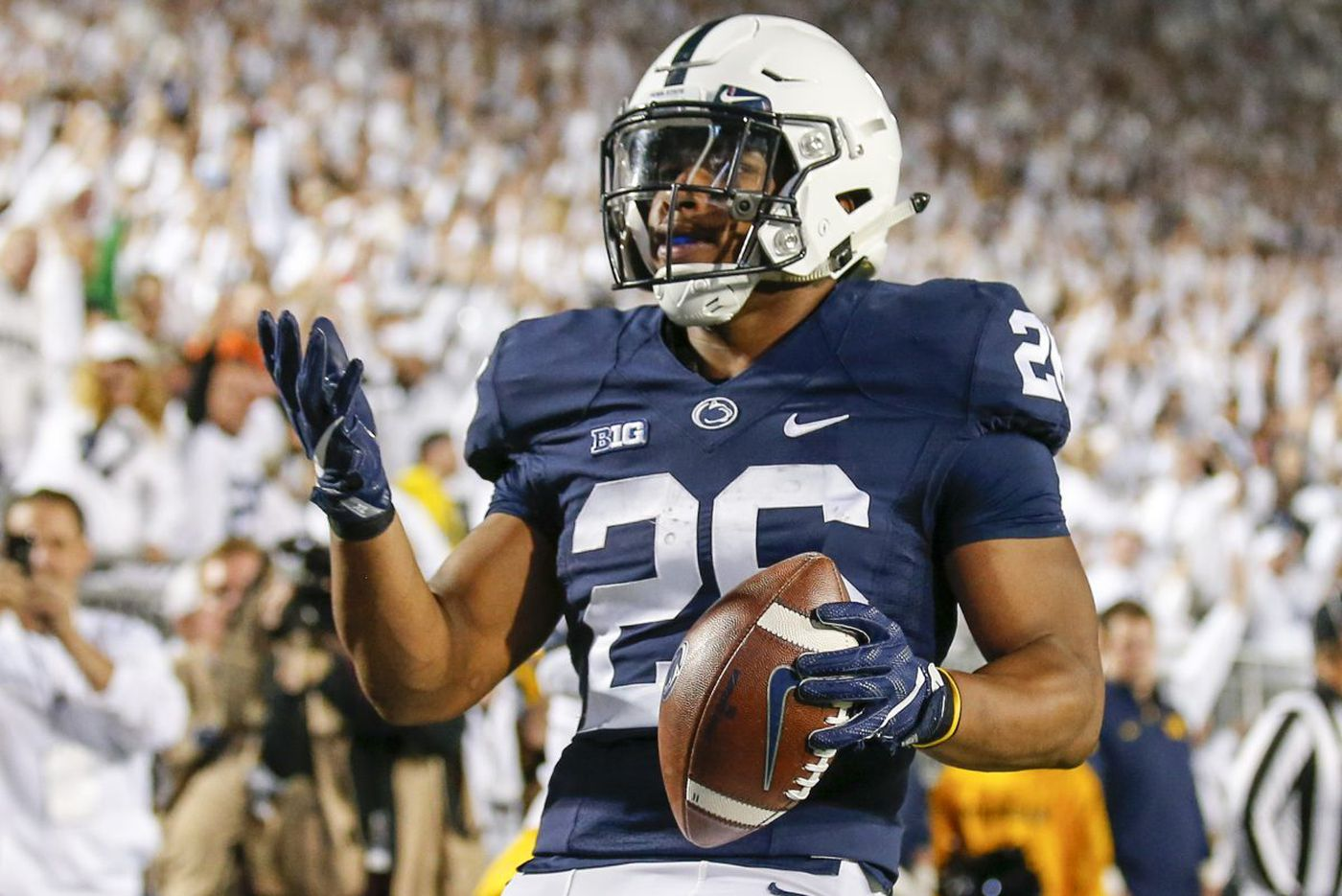 Penn State retains No. 2 ranking in Associated Press poll
