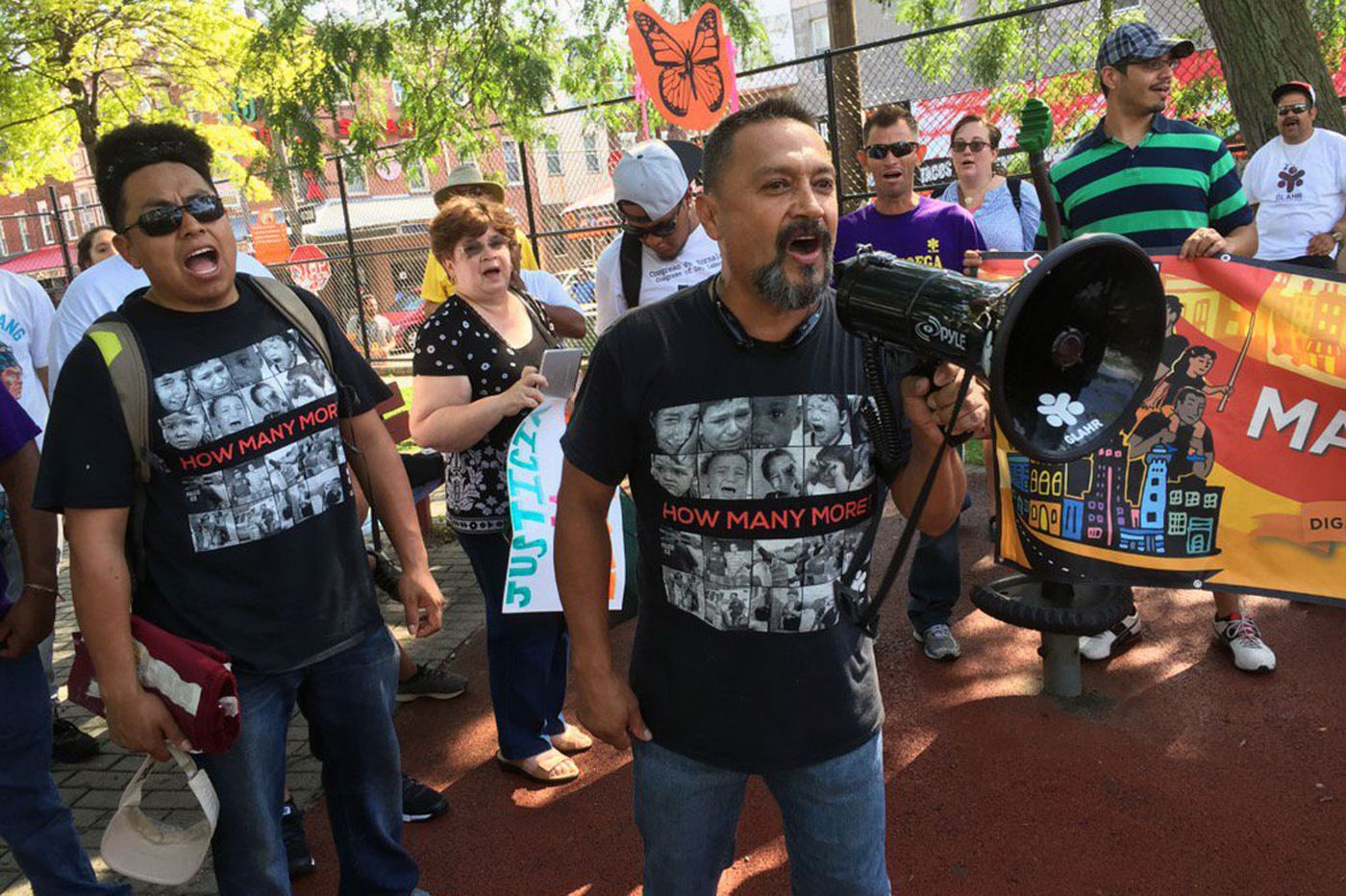 Mayors champion immigration; activists march against Trump