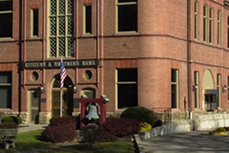 C&N bank branch, Troy, Pa. The company is expanding into suburban Philadelphia and has bought two Bucks County banks.