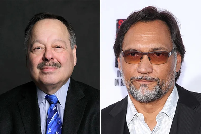 Nelson Diaz (left) and Jimmy Smits (left). (STAFF PHOTO and AP PHOTO)