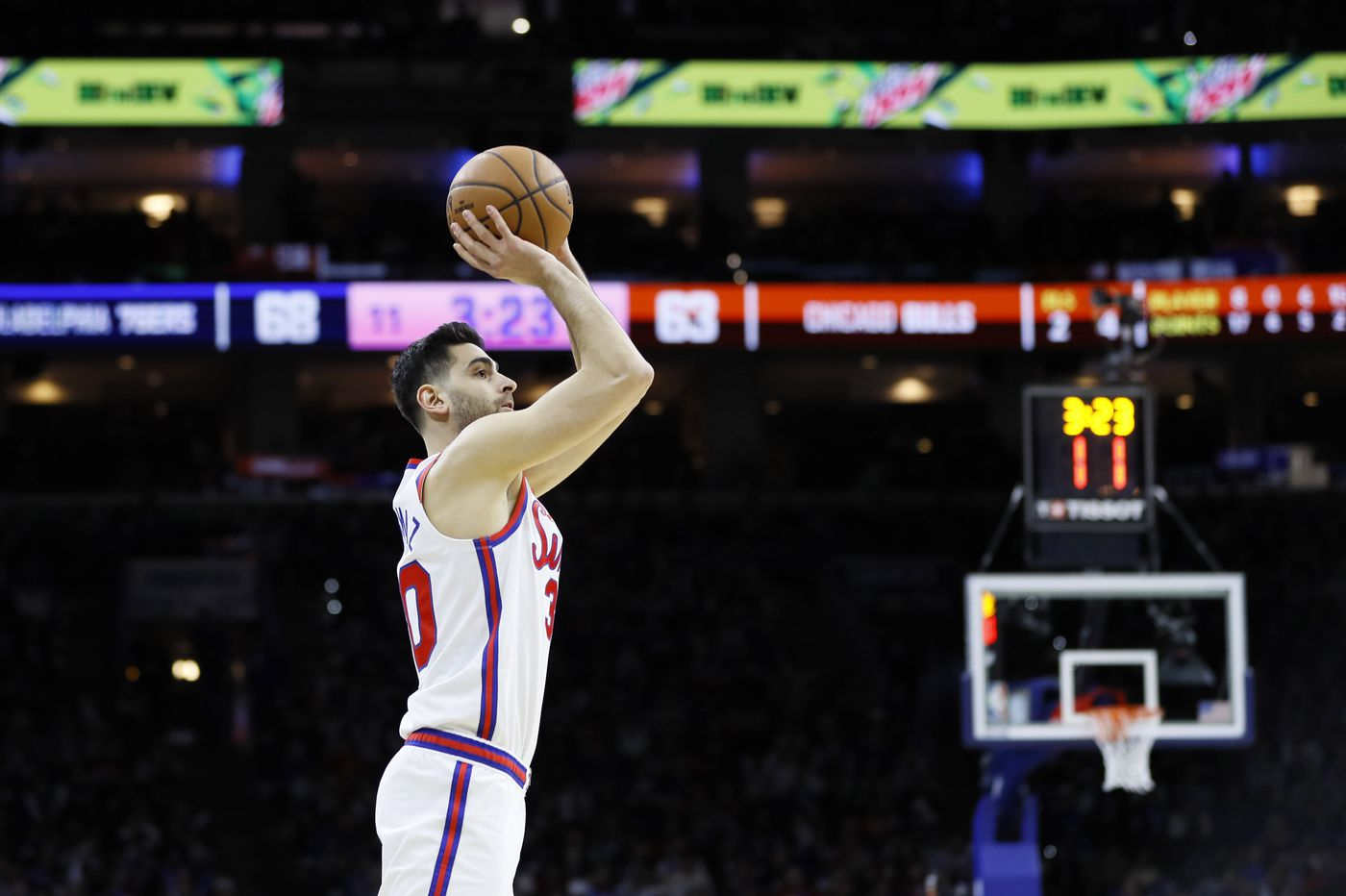 Sixers-Bulls best & worst: Furkan Korkmaz's sharpshooting, Philly playing six on five, Kris Dunn's woes