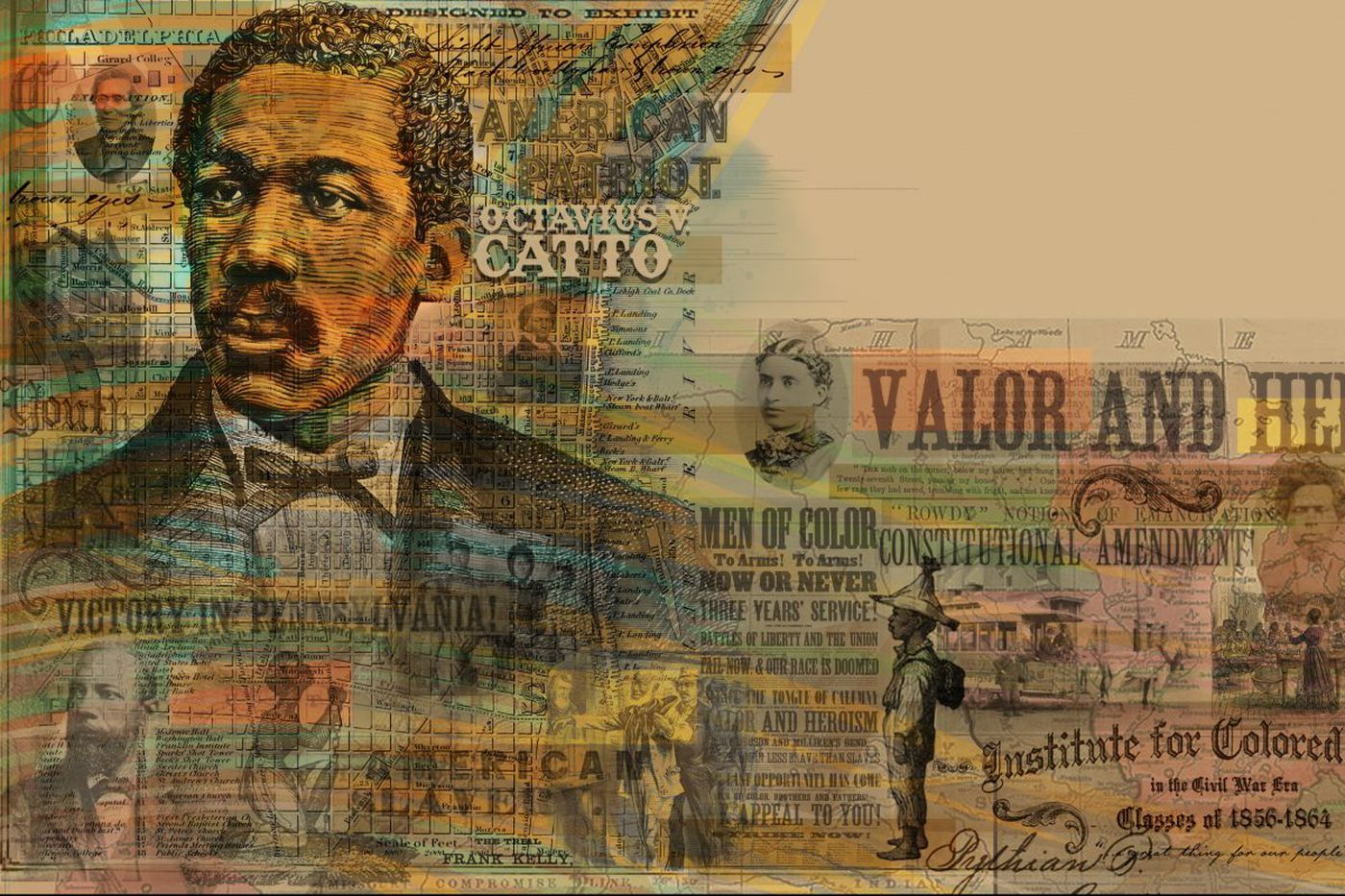 Young black author? These Octavius Catto historians want you for a children's book version